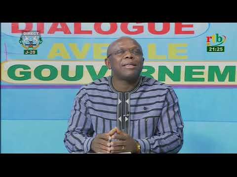 Rtb - Dialogue avec le Gouvernement n°1 avec le Ministre burkinabè de la Communicatio