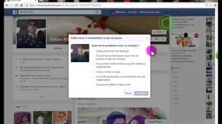 comment bloquer,déclarer un problème ou  suprimer un ami sur facebook ? l'explication est facil 100%