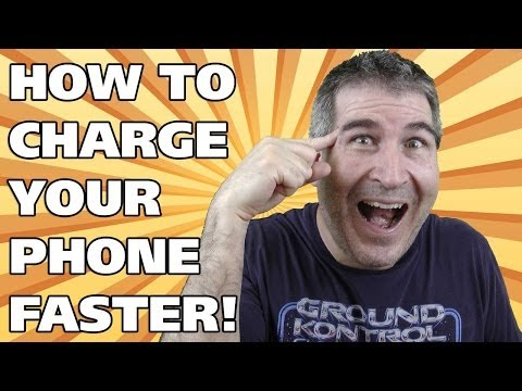 HOW TO CHARGE YOUR PHONE BATTERY FASTER! - Easy Everyday Solutions