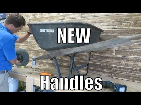 TG How to Replace Wheelbarrow Handles