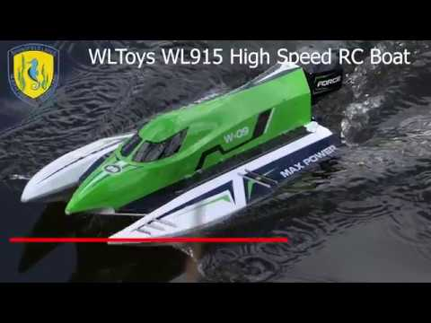Springfield Lakes Maritime Modellers WL915 Speed Boat