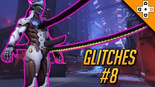 overwatch funny glitches lag 8 genji has a sword d ck   highlights montage