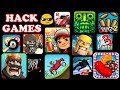 Hack any game using cheat droid