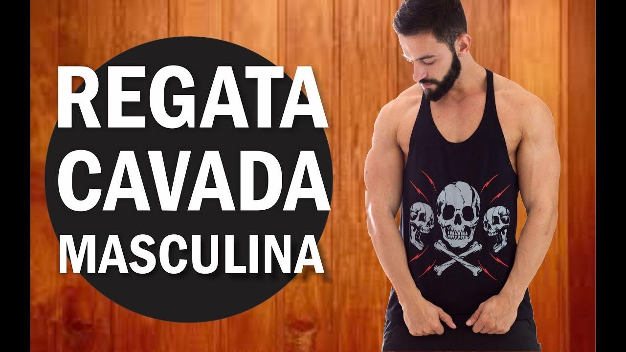 Camiseta Regata Cavada Masculina - YouTube 74245e1d6c0