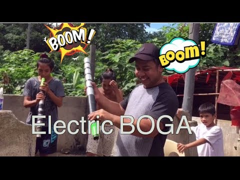 How To Make Electric CANNON (BOGA)