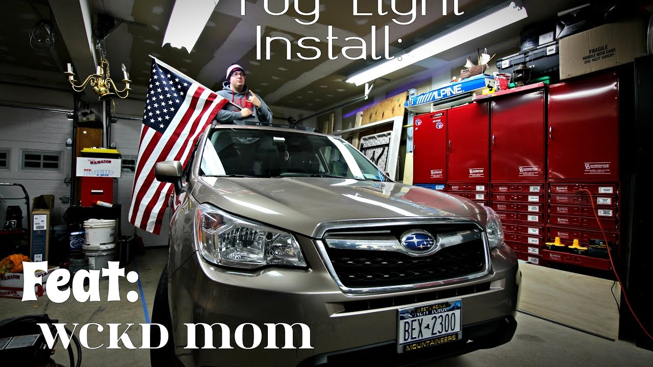how to install fog lights on subaru forester wckd mom edition [ 1280 x 720 Pixel ]