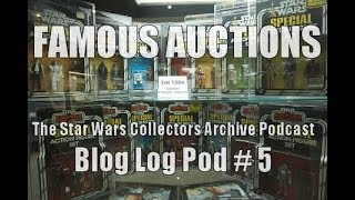 Famous Auctions:  The SWCA Podcast, Blog Log Pod #5