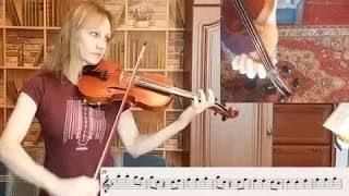 """Урок скрипки :  """"Пираты Карибского моря"""""""