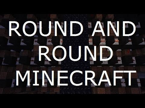 Round and Round - Imagine Dragons Minecraft Note Blocks + Lyrics