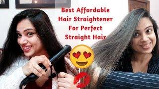 Philips Hair Straightener Review | Philips HP8303 Essential Selfie Straightener | Madams Choice