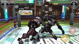 Real Steel Champions Walkthrough (Tournament - Region 4) GamePlay