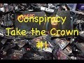 Conspiracy take the Crown booster box opening #1 of 5