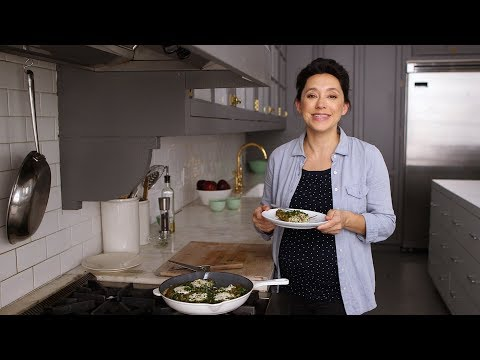 Swiss Chard Frittata with Rye Berries- Healthy Appetite with Shira Bocar