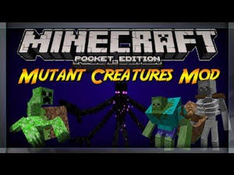 Mod De Creatures Mutantes Para Minecraft Pe 0.14.0