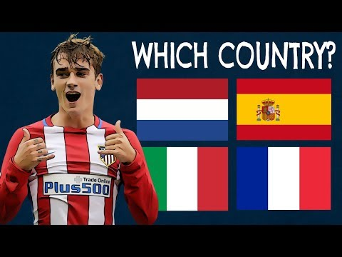 Which Countries Do The Players Play For? (Part 4)| Football Quiz