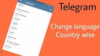 telegram android