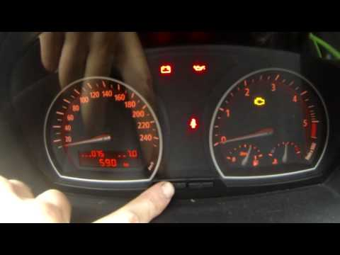 How to enter hidden menu in BMW X3 (E83) instrument cluster hidden menu