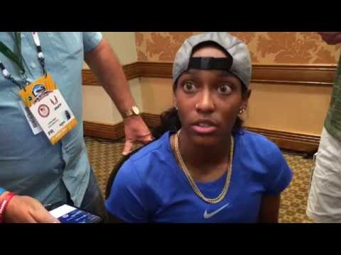 English Gardner On Her Olympic Prospects