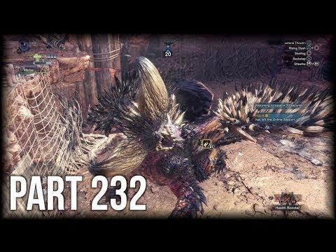Monster Hunter: World - 100% Walkthrough Part 232 [PS4 Pro] – Challenge Quest 02 (Expert) thumbnail