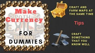 [Path of Exile] How I make my currency, 4 different ways!!