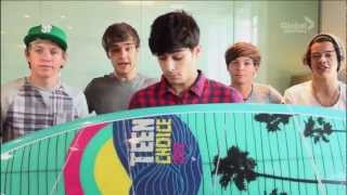 One Direction - Teen Choice Awards 2012