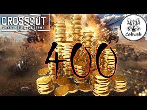 Crossout Лучшая покупка на 400 монет