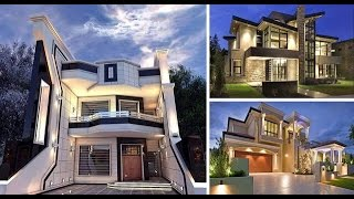 Modern Home Exterior Design Ideas | 2017