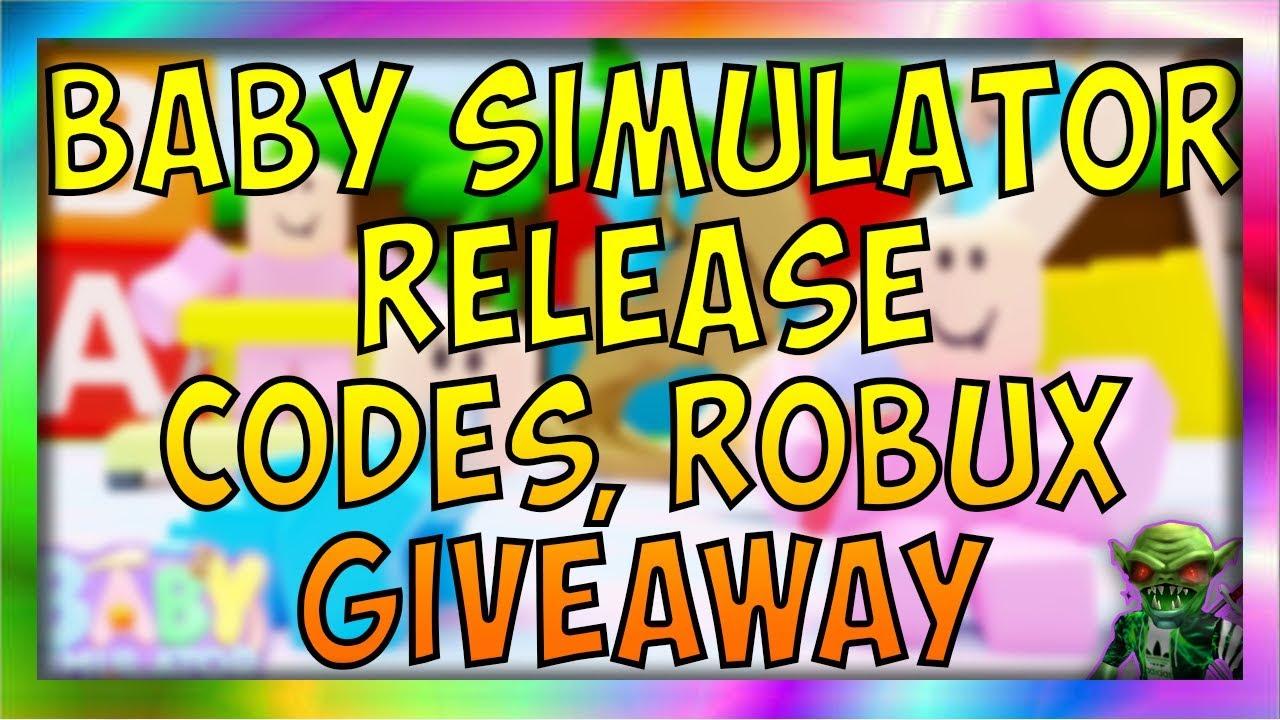 All New Baby Simulator Update Codes 2019 Baby Simulator