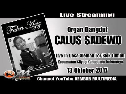 Live Organ CALUS SADEWO Khitanan FAHRI AZIZ Desa Sleman Lor Blok Lumbu 13 Oktober 2017 MALAM