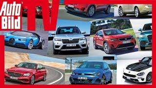 Top 10 Autos Genf - Die heissesten Neuheiten (2016)