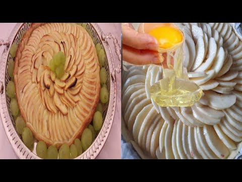 How to prepare Tart with apple in a short time