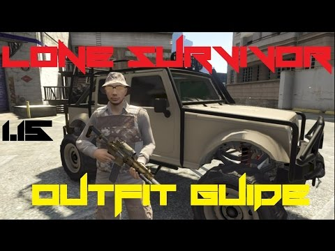 GTA V Online - 'Lone Survivor' Military Outfit Guide