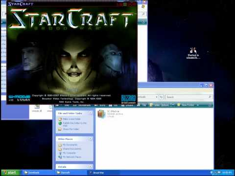Play StarCraft In A Window NO CD-Rom
