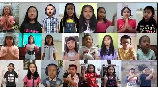 CORONA GO AWAY oleh Anak-Anak GKJW Bondowoso (from home)
