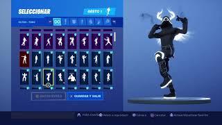 Skin Perfect Shadow Dancing 117 Fortnite Gestures