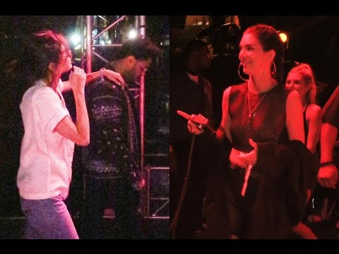 Kendall Jenner Laughing At Selena Gomez & The Weeknd At Coachella?