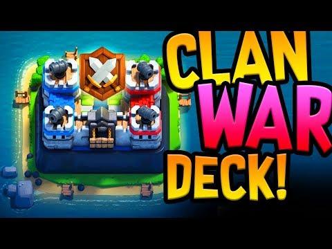 CLAN WARS DECK!!! - Clash Royale UPDATE!