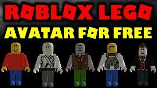Devenez des personnages Lego GRATUIT sur ROBLOX!