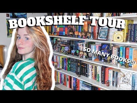 BOOKSHELF TOUR 2021 | ABBYSBOOKS