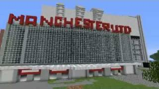 Minecraft | Old Trafford - Man United Stadium Remake
