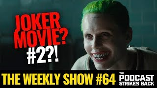 Jared Leto To Star & Executive Produce Joker Movie (The Weekly Show #64)