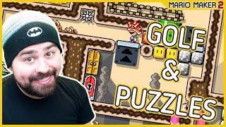 Golf and Puzzles | Super Mario Maker 2 / Видео