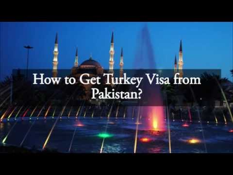 How to Get Turkey Visa from Pakistan