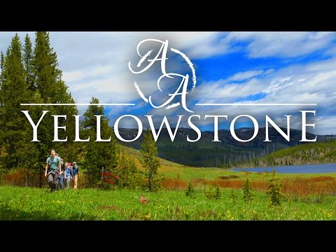 Yellowstone National Park in 4k | Bushcraft Backpacking, Hik