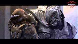 Halo Wars: Spartans Vs Elites Scene [HD]