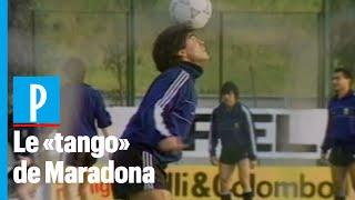 Coupe du Monde 1990: Maradona régale les journalistes avant Argentine-URSS