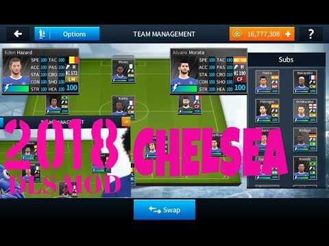 Hack Chelsea, all players 100% rating and ultimate coins in
