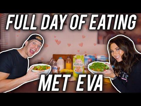 FULL DAY OF EATING MET EVA
