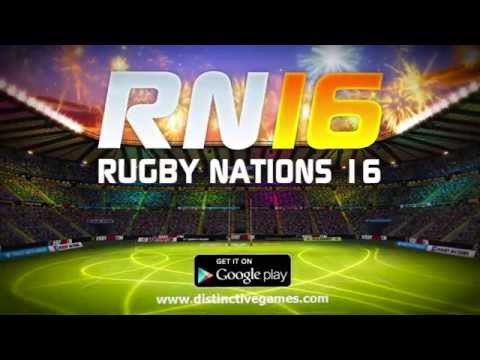 Rugby Nations 16 Trailer Google Play