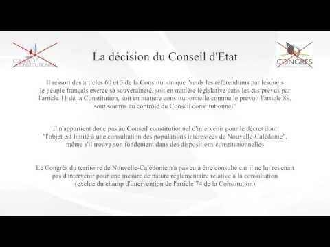 Décision Sarran - Conseil d'Etat